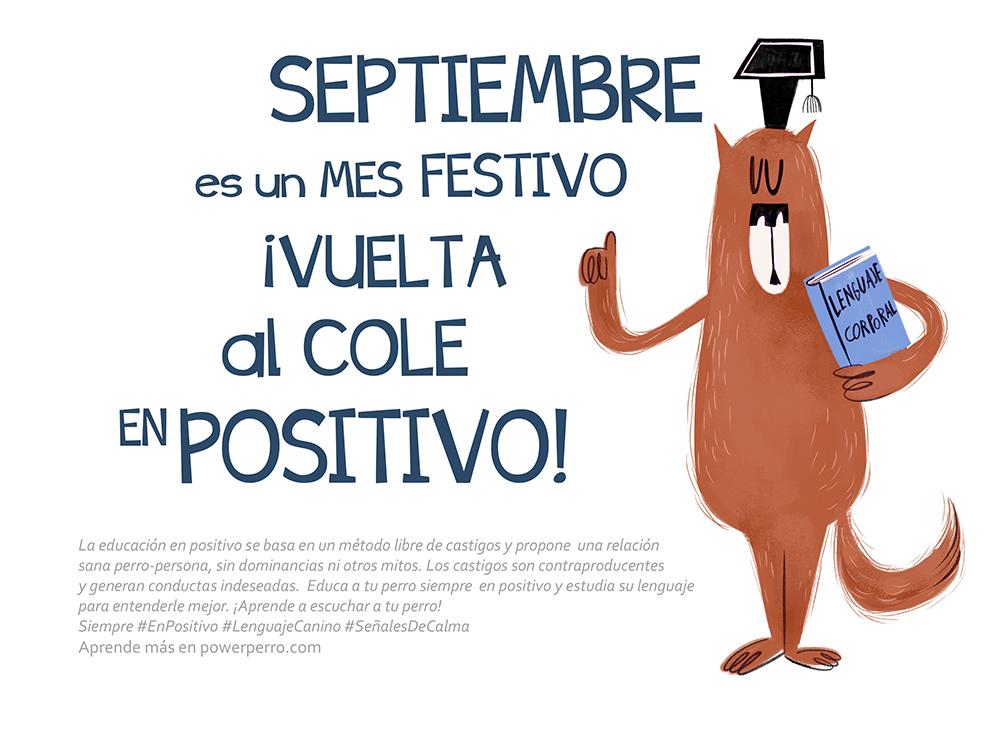 mes de septiembre del calendario power perro